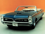 Pontiac Tempest GTO Convertible 1967 wallpapers