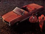 Pontiac Tempest Sprint Convertible 1967 wallpapers