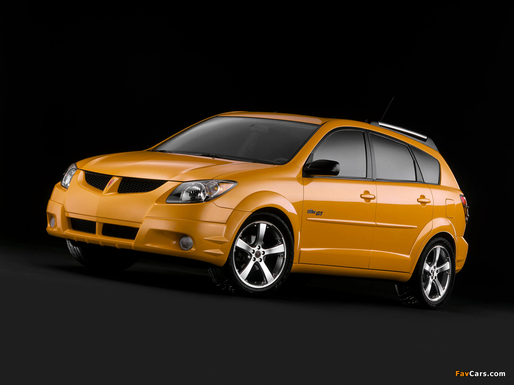 Pictures of Pontiac Vibe GT 2002–06 (1024 x 768)