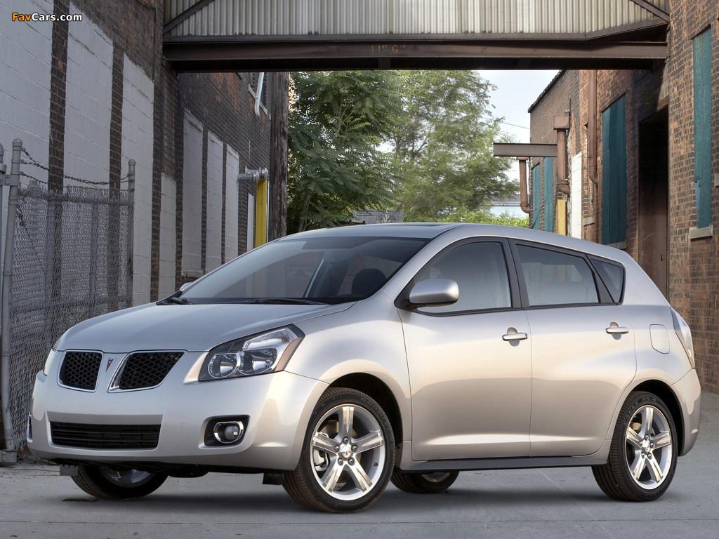 Pictures of Pontiac Vibe 2008–09 (1024 x 768)