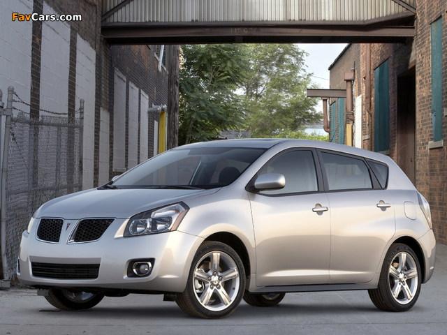 Pictures of Pontiac Vibe 2008–09 (640 x 480)