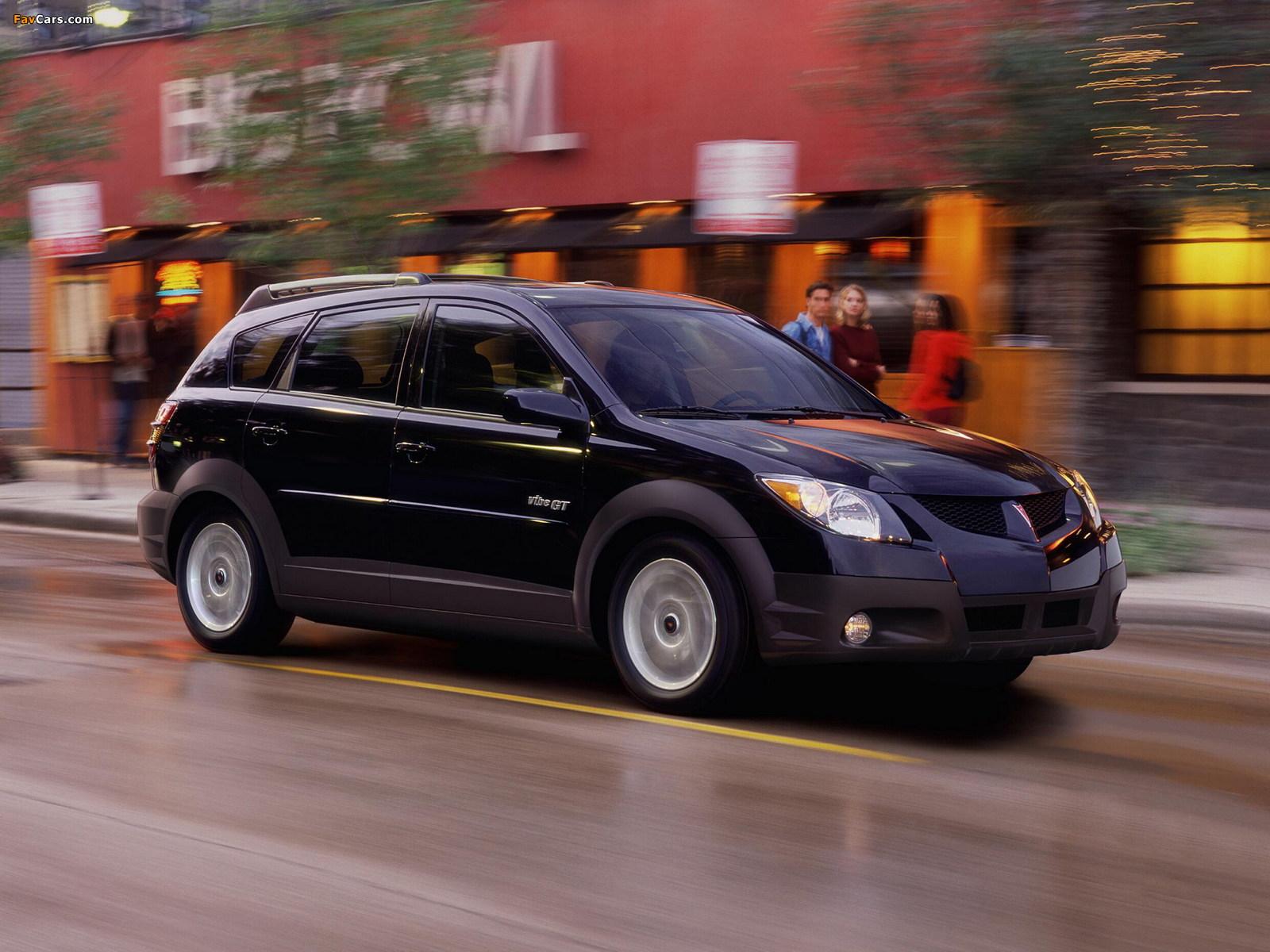 Pontiac Vibe GT 2002–06 photos (1600 x 1200)