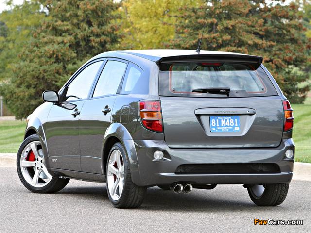Pontiac Vibe GXP Concept 2002 pictures (640 x 480)