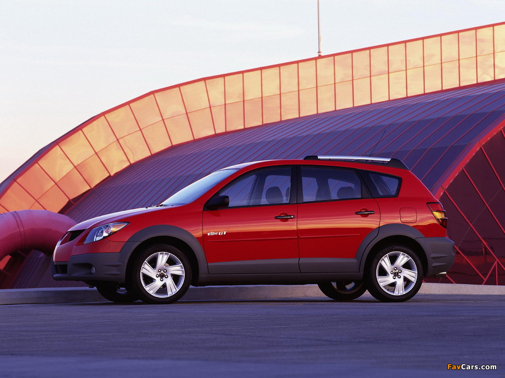Pontiac Vibe GT 2002–06 pictures (1024 x 768)