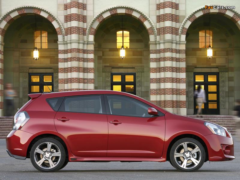 Pontiac Vibe GT 2008–09 images (800 x 600)