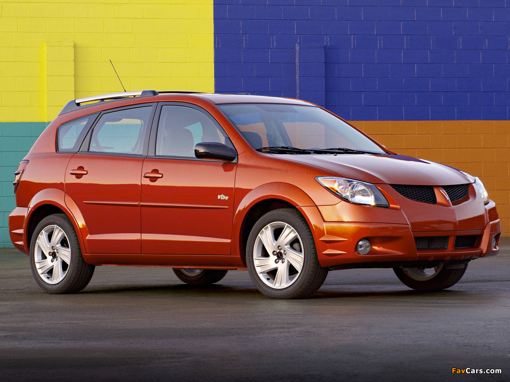 Pontiac Vibe 2002–08 wallpapers (1024 x 768)