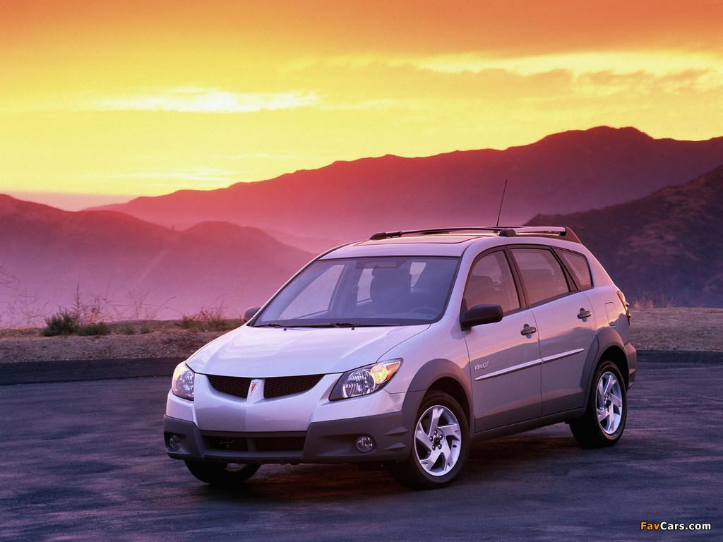 Pontiac Vibe GT 2002–06 wallpapers (1024 x 768)