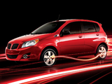 Images of Pontiac Wave Hatchback (T250) 2008