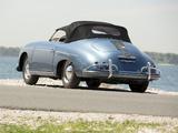Images of Porsche 356A 1600 Speedster by Reutter US-spec (T1) 1955–57