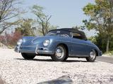 Photos of Porsche 356A 1600 Speedster by Reutter US-spec (T1) 1955–57