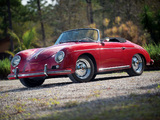 Pictures of Porsche 356A 1600 Super Roadster by Reutter US-spec (T2) 1958–59