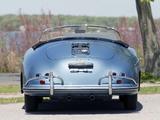Porsche 356A 1600 Speedster by Reutter US-spec (T1) 1955–57 images