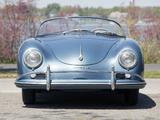 Porsche 356A 1600 Speedster by Reutter US-spec (T1) 1955–57 photos