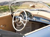 Porsche 356A 1600 Speedster by Reutter US-spec (T1) 1955–57 pictures