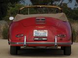 Porsche 356A Cabriolet 1955–59 pictures