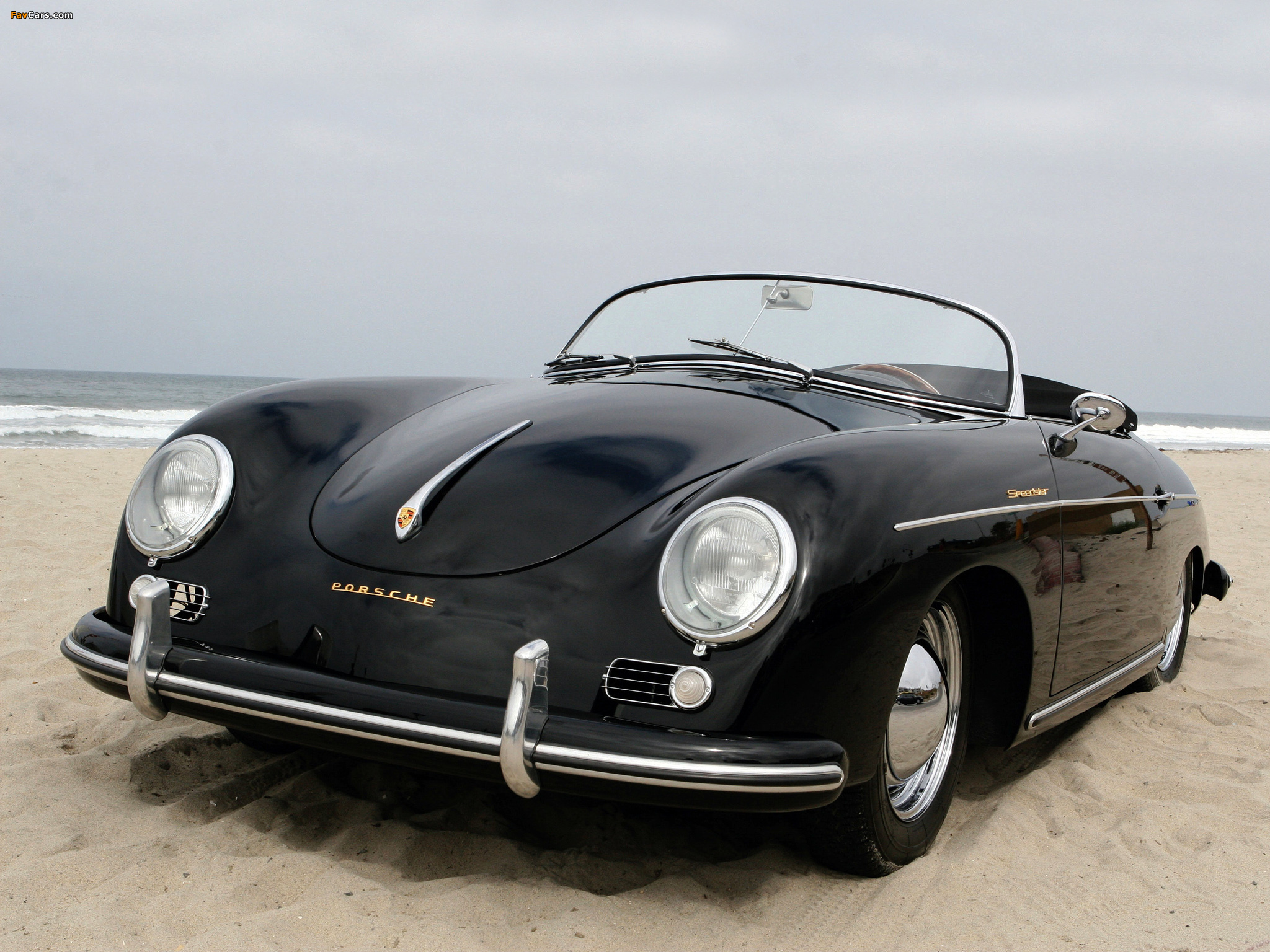 Porsche 356a 1500 Speedster 1955 Wallpapers 2048x1536