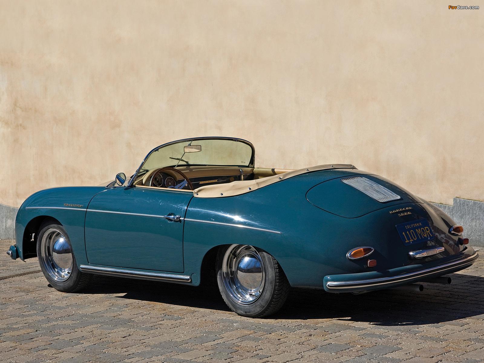 Porsche 356a 1600 Speedster 1956 58 Photos 1600x1200