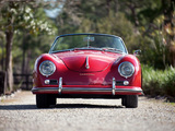 Porsche 356A 1600 Super Roadster by Reutter US-spec (T2) 1958–59 images