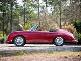 Porsche 356A 1600 Super Roadster by Reutter US-spec (T2) 1958–59 wallpapers