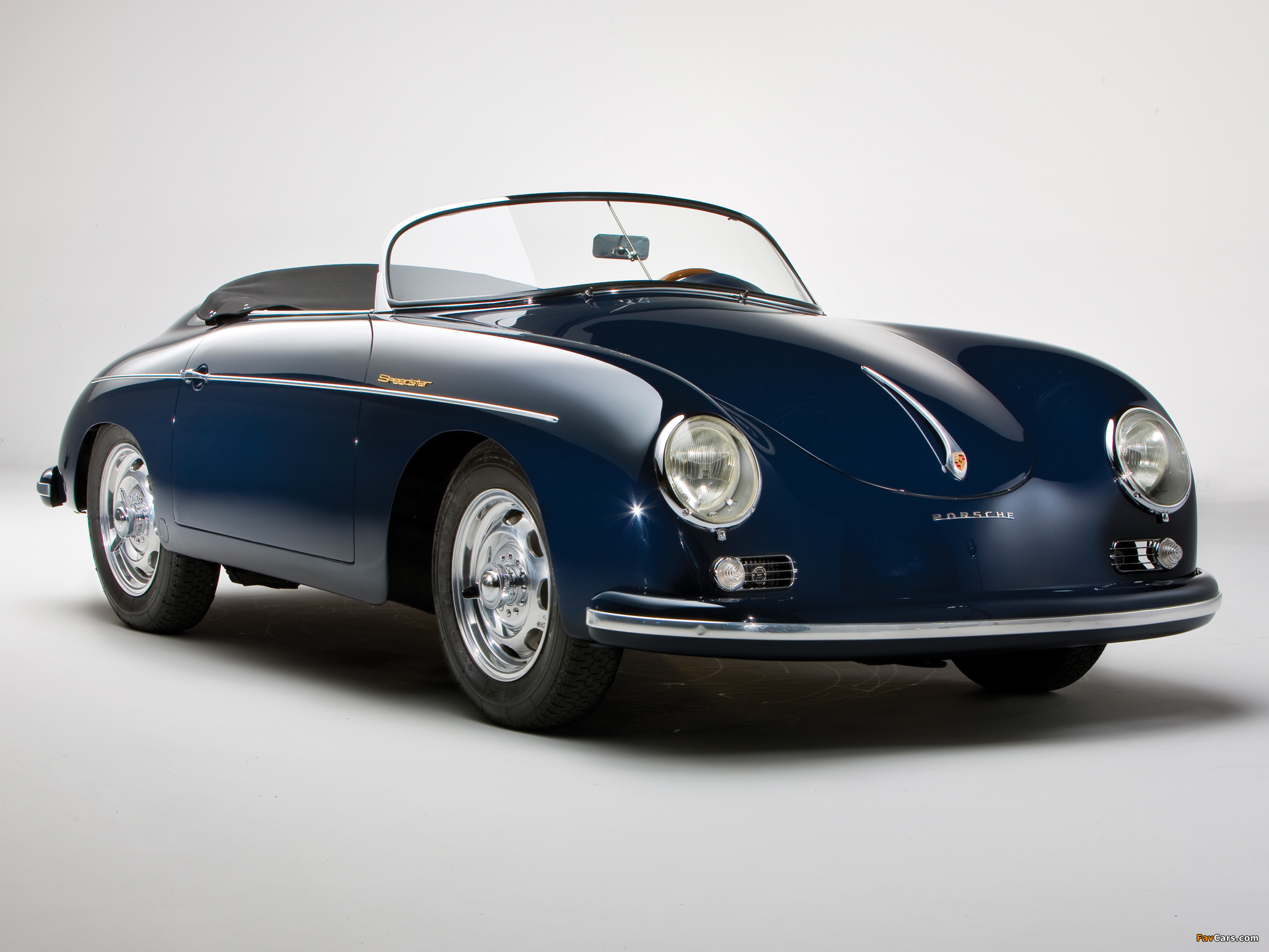 Porsche 356a 1600 Speedster 1956 58 Wallpapers 2048x1536
