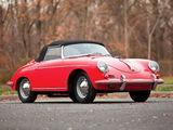 Photos of Porsche 356B 1600 Cabriolet by Drauz (T5) 1959–62