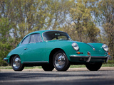 Pictures of Porsche 356B 1600 Super 90 Coupe (T6) 1962–63