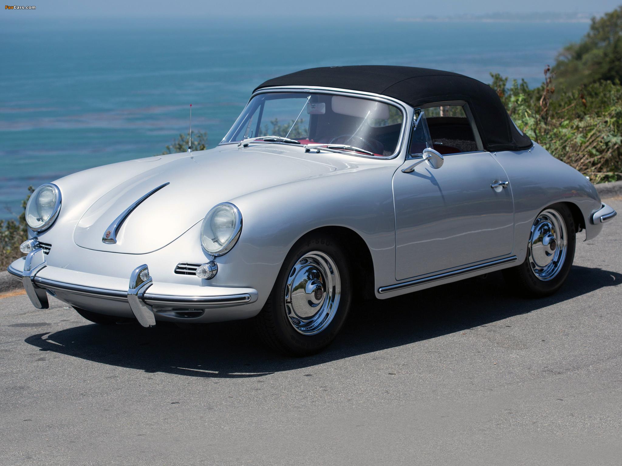 Porsche 356b 1600 S Cabriolet Us Spec T6 1962 63 Images 2048x1536
