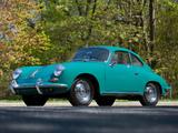 Porsche 356B 1600 Super 90 Coupe (T6) 1962–63 photos