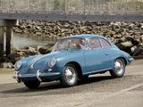 Porsche 356B 1600 Coupe by Karmann US-spec 1963 pictures