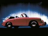 Pictures of Porsche 356 SC Cabriolet 1964–65