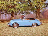 Porsche 356C 1600 Cabriolet 1963–65 wallpapers