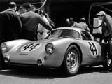 Porsche 550 Coupe Le Mans 1953 pictures