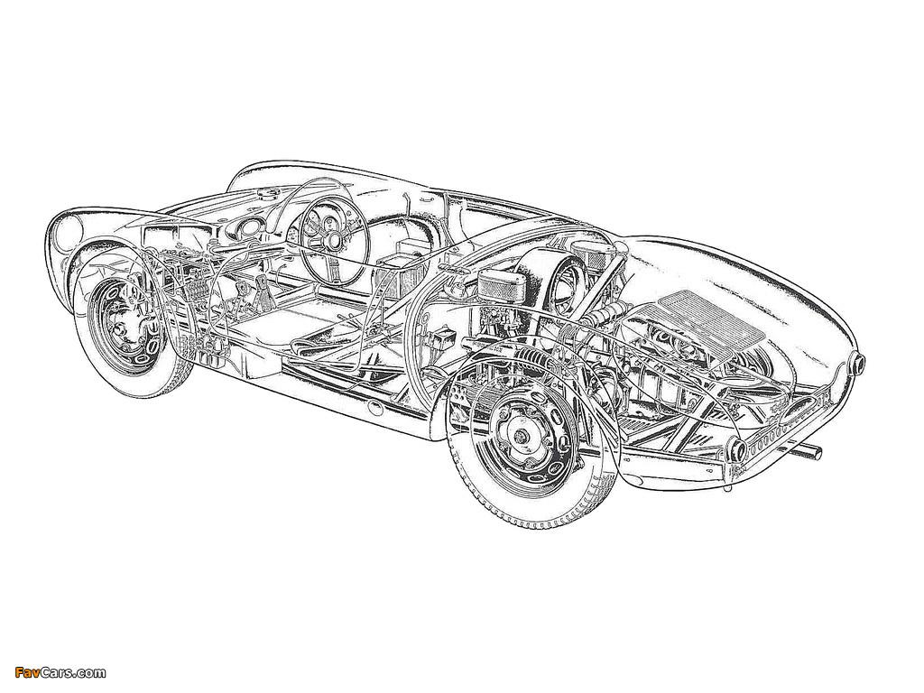 Porsche 550 Spyder 1956 58 Wallpapers 1024x768