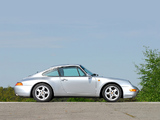 Images of Porsche 911 Carrera 3.6 Coupe (993) 1993–97