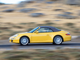 Images of Porsche 911 Carrera Cabriolet (997) 2005–08