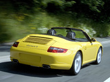 Images of Porsche 911 Carrera 4 Cabriolet (997) 2006–08