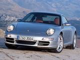 Images of Porsche 911 Carrera 4S Coupe (997) 2006–08