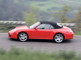 Images of Porsche 911 Carrera 4S Cabriolet (997) 2006–08