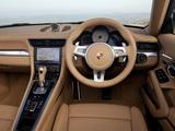 Images of Porsche 911 Carrera S Cabriolet UK-spec (991) 2011