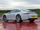 Images of Porsche 911 Carrera 4 Coupe UK-spec (991) 2012