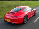 Images of Porsche 911 Carrera 4S Coupe UK-spec (991) 2012