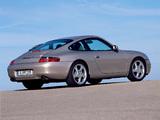 Photos of Porsche 911 Carrera Coupe (996) 1997–2001