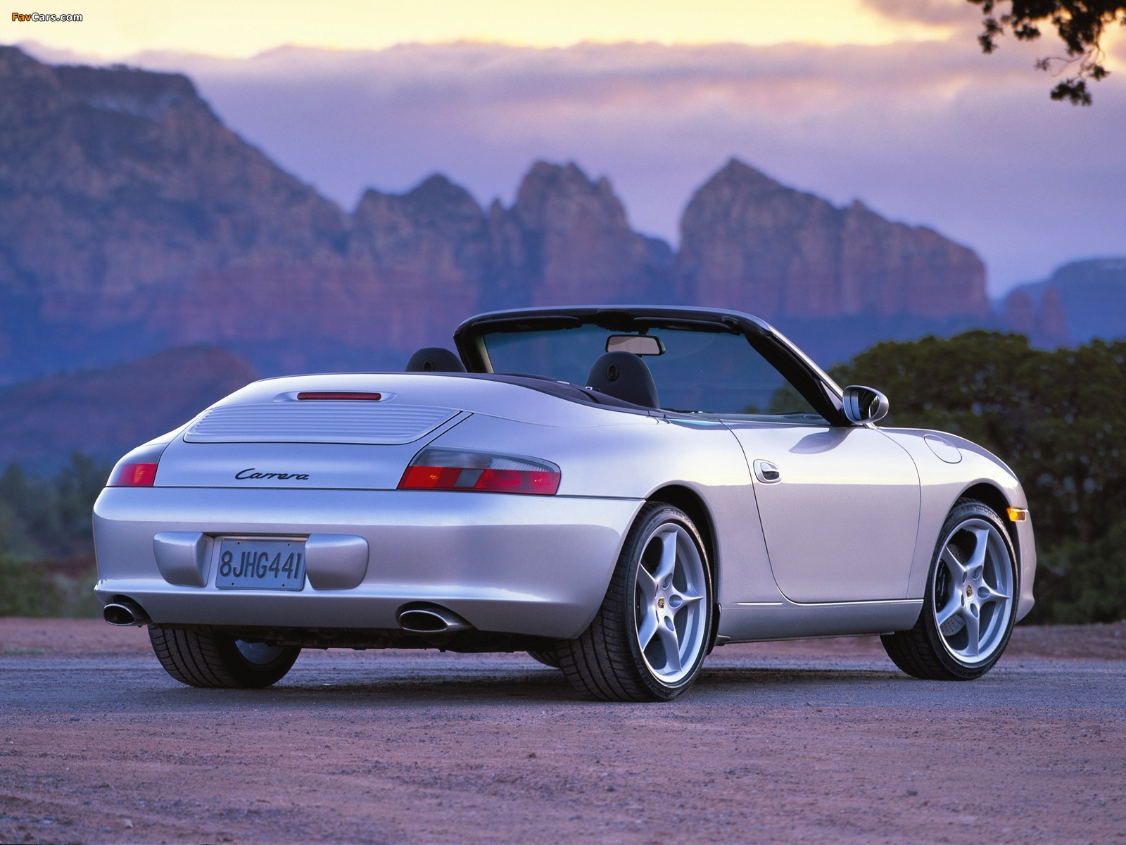 Photos Of Porsche 911 Carrera Cabriolet Us Spec 996 2001