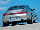 Photos of Porsche 911 Carrera 4S Coupe (996) 2001–04