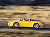 Photos of Porsche 911 Carrera Cabriolet (997) 2005–08