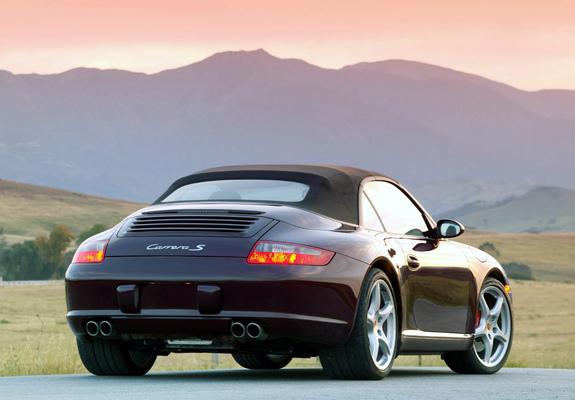 Photos Of Porsche 911 Carrera S Cabriolet Us Spec 997 2005 08