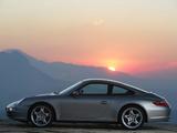 Photos of Porsche 911 Carrera 4S Coupe (997) 2006–08