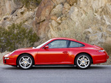 Photos of Porsche 911 Carrera 4 Coupe US-spec (997) 2006–08