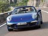 Photos of Porsche 911 Carrera 4 Cabriolet (991) 2012