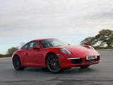 Photos of Porsche 911 Carrera 4S Coupe UK-spec (991) 2012